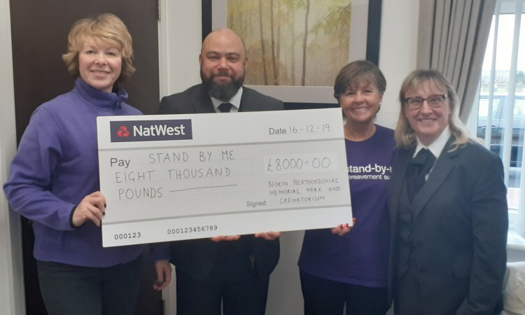 NHM Stand-by-Me- Cheque Presentation